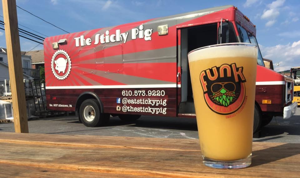 Sticky Pig at Funk Brewery